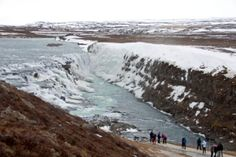 Gullfoss Waterfall,
