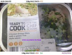 Aldi Thai chicken