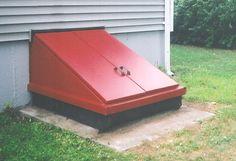 basement doors | Replace your... Precast units that include the bulkhead top, walls ...