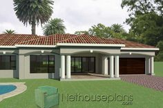 Small House Floor Plans, My House Plans, House Plans With Photos, Garage House Plans, Modern House Plans, 6 Bedroom House Plans, 4 Bedroom House Designs, Double Storey House Plans, One Storey House