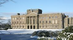 The National Trust's Lyme Park, Cheshire, is a magnificent house and estate on the edge of the Peak District. (c) National Trust Images