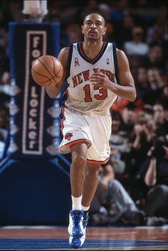 Mark Jackson, who played for the New York Knicks from 1987 to 1992.