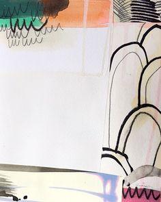 "Eva Magill-Oliver - ""eva"", mixed media, collage on paper, 2015"