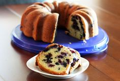 Moist and Delicious Blueberry Bundt Cake