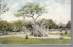 Postcard of Canobie Lake Park, circ 1907
