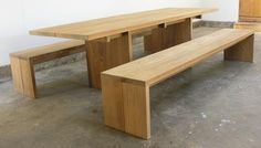 Furniture: John Pawson Tables from Matin in Los Angeles : Remodelista