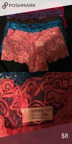 New Undies - Pack of 5 Size Medium Undies Intimates & Sleepwear Panties