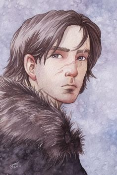 Jon Snow from George R.R. Martin's Song of Ice and Fire (Game of Thrones) series!