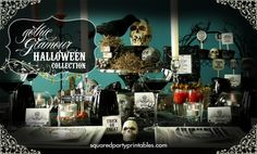 """Gothic Victorian Halloween Bling Party / Halloween """"Romantic Gothic Halloween Dinner { Inspiration } Party"""" 
