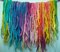 Wool Dreads, Synthetic Hair Extensions, & Accessories by Synthetic Dreads, Synthetic Hair Extensions, Bismuth Steven Universe, Sadie And Lars, Hair Extension Shop, Holly Blue, Wool Dreads, Yellow Pearl, Rainbow Quartz