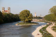 10 Gründe, warum das Leben in München schöner ist als anderswo: Isar