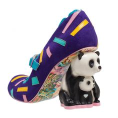 I kinda dig these, but in black and white. Yang Guang | Irregular Choice