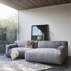 Clay Bank gris divan-places et gauche ou à droite - Wonen met LEF! Funky Furniture, Furniture Design, Living Room Designs, Living Spaces, 139, Cool Apartments, Bohemian Living, Modular Sofa, Modern Bedroom