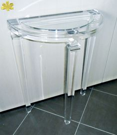 1000 images about acrylic console tables consolle in - Mobili in plexiglass ...