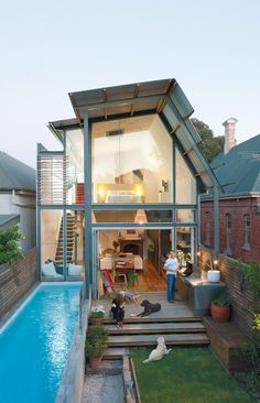 Perfect house for small spaces