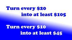 #followerslikehits Turn every $10 into at least $45 N every $20 into at least $105 ASAP!!!  http://followerslikehits.com