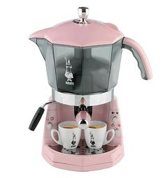 Time to have a little break with an expresso .... Today is pink expresso day !