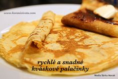 Russian Recipes, Healthy Recipes, Healthy Food, Pancakes, Food And Drink, Sweets, Bread, Baking, Breakfast
