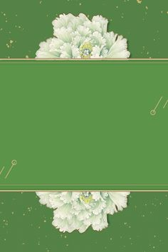 New Chinese Style Green Gold Line Retro Background, Flower Background Wallpaper, Gold Background, Green Wallpaper, Wedding Background, Flower Backgrounds, Watercolor Background, Background Images, Chinese New Year Poster