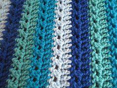 Ravelry: Elegant Baby Blanket pattern by Laura Wilson