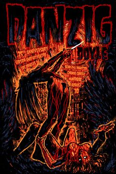GigPosters.com - Danzig - Doyle - Scar The Martyr - Cherie Currie - Huntress