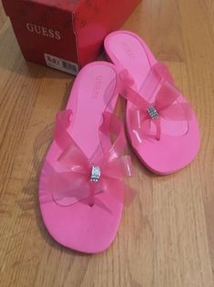88ed5b7385d74f Guess Tutu Flip Flops Pink Size 8 New With Box  fashion  clothing  shoes   accessories  womensshoes  sandals (ebay link)