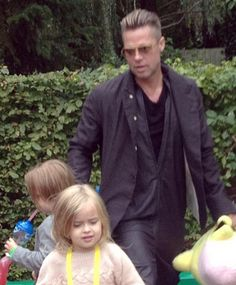 Brad Pitt, Sarah Jessica Parker, and other stars are spotted out and about with their adorable offspring.