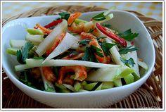 Gỏi táo tôm khô - Tôm khô - HUVA SEAFOODS - Tôm biển sấy khô http://huvaseafoods.com/news/41/Goi-tao-tom-kho