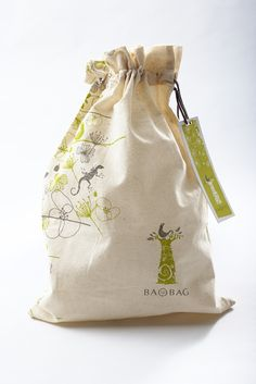 Brand Identity - Baobag by Katja Lambert, via Behance