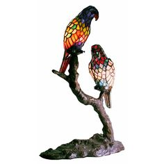 exotic birds accent lamp housewarming gifts