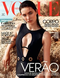 Matilda Lowther by Frederico Martins for Vogue Portugal July 2015