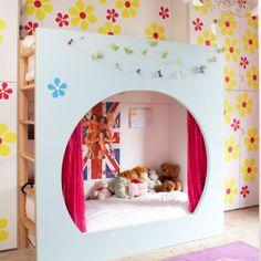 Creative bunk bed