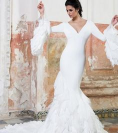 vestidos boda vicky martin berrocal - flamenco