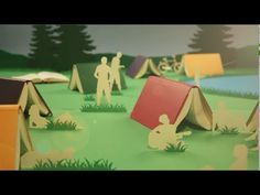 A Year in Full Colour - Moleskine Planners (2012): A very cool stop motion ad showing off all the new colors of Moleskine notebooks! Made and directed by the graphic motion designer Rogier Wieland, the video was made using 382 notebooks and features his cat and a mouse borrowed from a pet shop. The timelapse making-of video is just as much fun to watch: https://vimeo.com/51591015