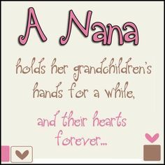 to nana from granddaughter - Google Search