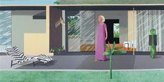David Hockney, Beverly Hills housewife (diptych), 1966-67