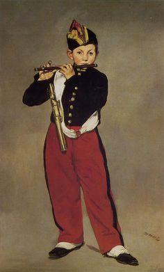 Edouard Manet : Le fifre or The Fife