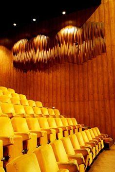 Painel Acústico, Teatro Nacional, Brasília, 1978
