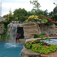 RicoRock Coping for Pools & Walls Awesome Pools, Cool Pools, Outdoor Ideas, Backyard Ideas, Outdoor Decor, Waterfall Design, Pool Fun, Backyards, Water Features