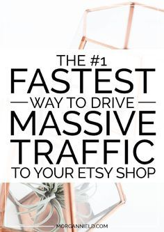 The FASTEST way to gain massive exposure for your Etsy shop Morgan Nield - Sales Email - Ideas of Sales Email - The Fastest Way to Drive Massive Traffic to Your Etsy Shop