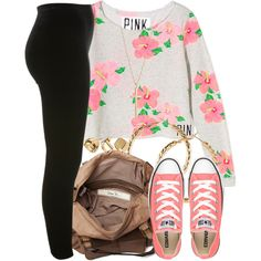 """Eh quick simple fit.."" by livelifefreelyy on Polyvore"