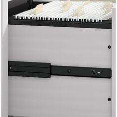 Beachcrest Home Cyra L Shaped Desk & Reviews | Wayfair Rolling File Cabinet, Drawer Filing Cabinet, Top Drawer, Desk Storage, Built In Storage, Mobile Pedestal, 5 Shelf Bookcase, Mobile File Cabinet, L Shaped Desk