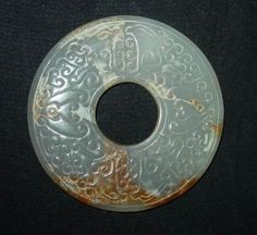 Zhou Dynasty, Warring States Period, China Art, Ancient China, Grey And Gold, Chinese Antiques, Ancient Artifacts, Chinoiserie, Jade