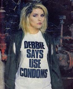 Going to be my 2015 Halloween costume lol blondie's Debbie Harry