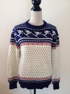 Vintage Ski Sweater by 21Vintage on Etsy