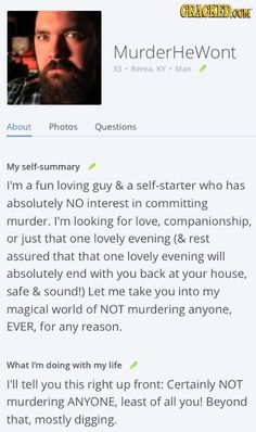Online dating killer 2018