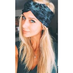 The gloriously beautiful @blovebutler wearing the Aranyani scarf turban. The perfect blue to go with everything  Shop Link In Bio  #BabesInBands #Headband #Turban #HotBabe #GetWithTheBand