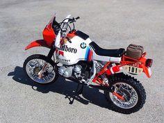 Bmw RG80 París Dakar