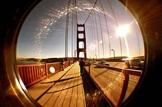 I love any picture of that pretty red bridge