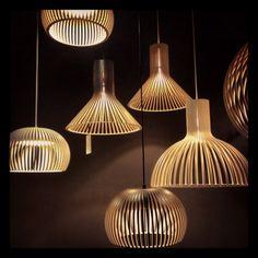 Secto Design Lamps in diseno istanbul showroom